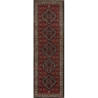 Semi-Antique Persian Bijar Rug