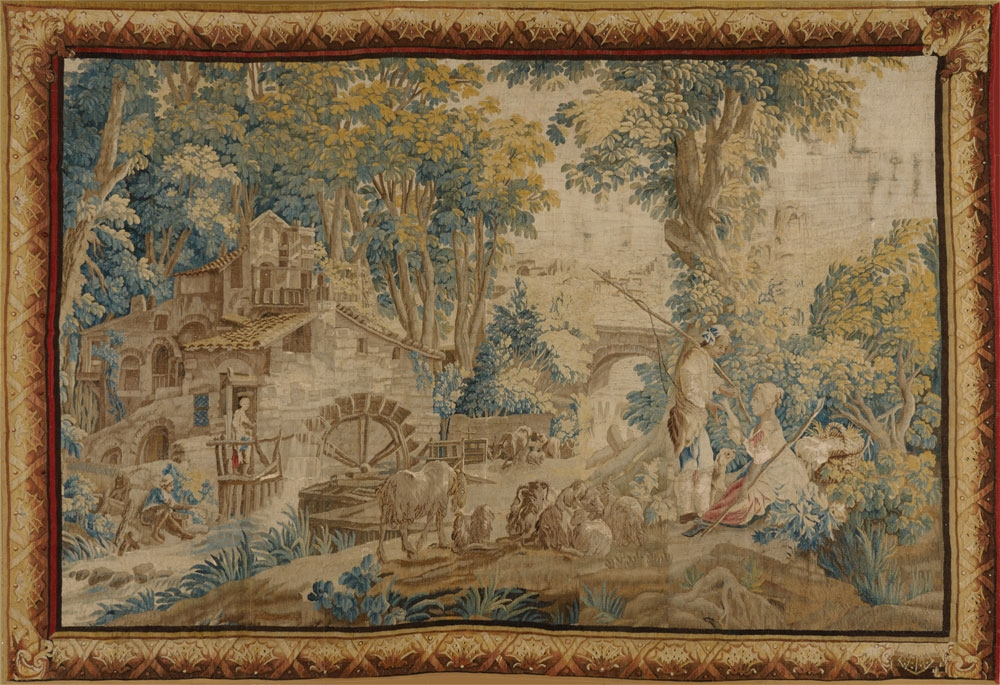 Antique Tapestry Tapestries 07421ha Matt Camron Rugs