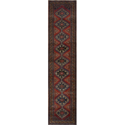 Antique Persian Garajeh Rug
