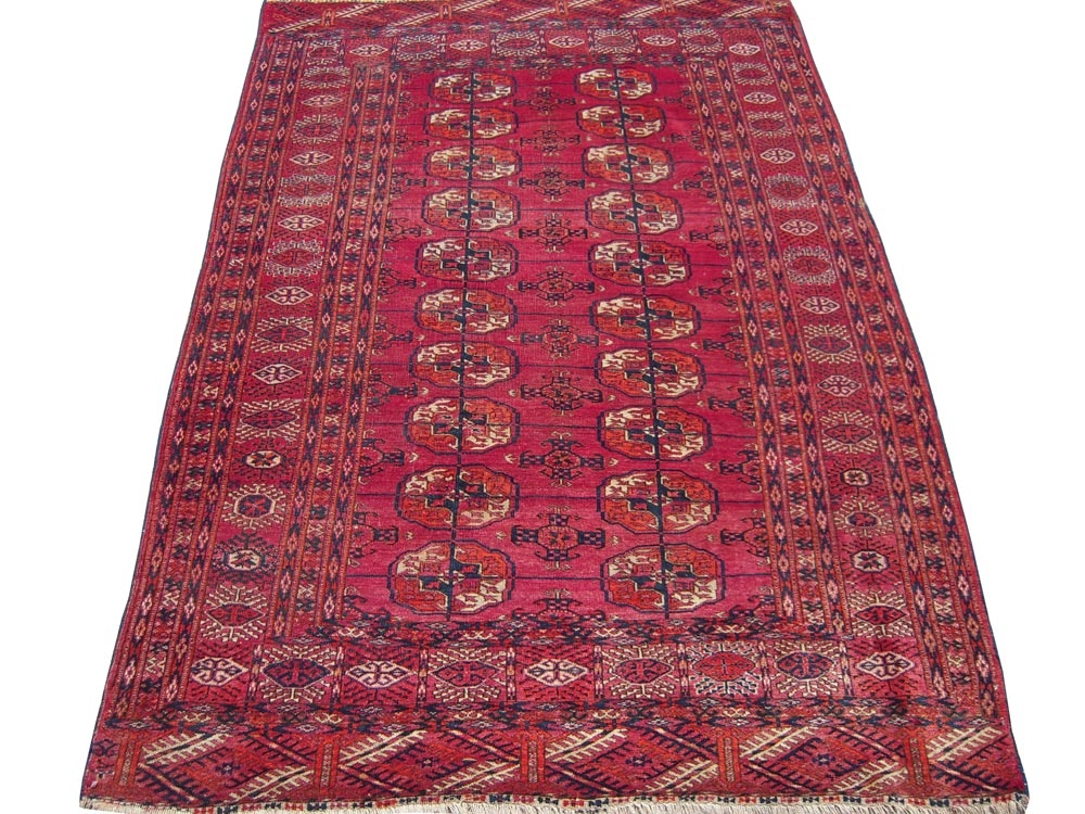 Antique  Turkaman Rug