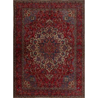 Semi-Antique Oriental Bakhtiari Fine Rug