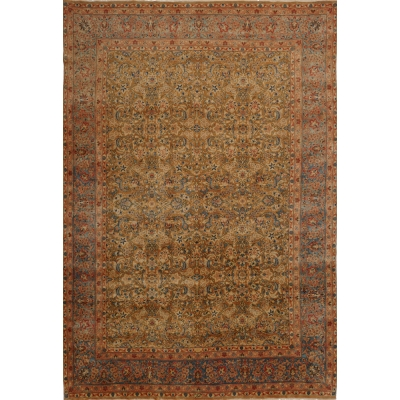 Semi-Antique Persian Yazd - Kerman Rug