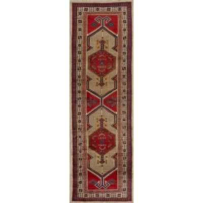 Antique Persian Sarab Rug