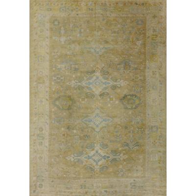 Semi-Antique  European - Tefzet Rug