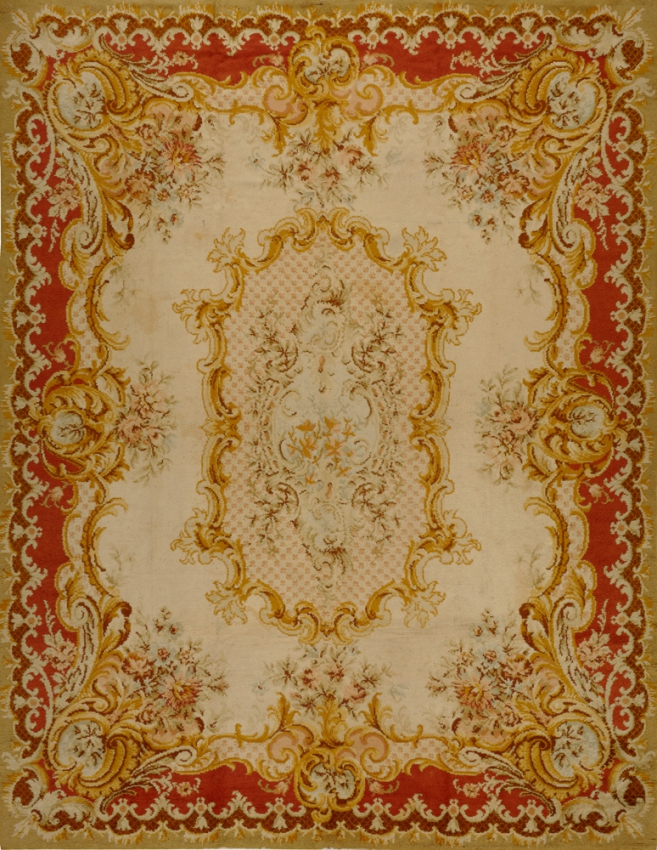 Antique  Savonnerie, Spanish Rug