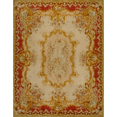 Antique  Savonnerie, Spanish Rug
