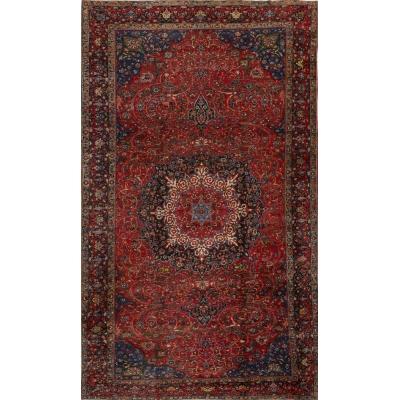 Antique Oriental Bakhtiari Fine Rug