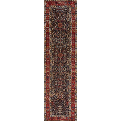 Antique Persian Bakshayesh Rug