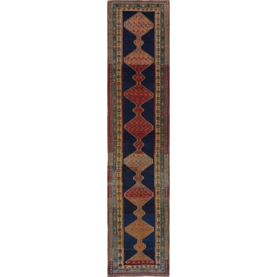 Antique  Kurdish (Meshgin) Rug