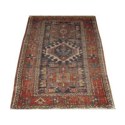 Antique  Worn Garajeh Rug