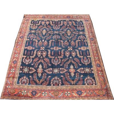 Antique Persian Mahal Sarouk Rug