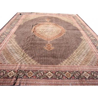 Antique Persian Tabriz - Fish Design Rug
