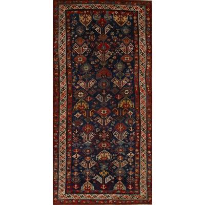 Antique Oriental Kazak Rug