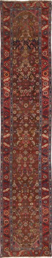 Antique Persian Bakhshayesh Rug