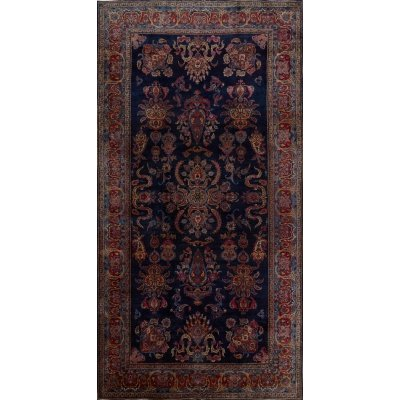 Antique  Yazd Rug