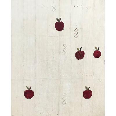 Vintage  Kilim / Apples Rug