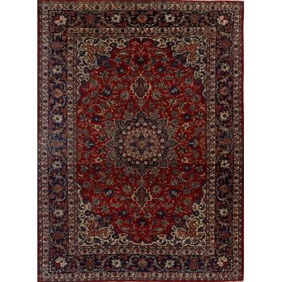 Semi-Antique Persian Najafabad Rug