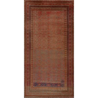 Antique Oriental Khotan Rug