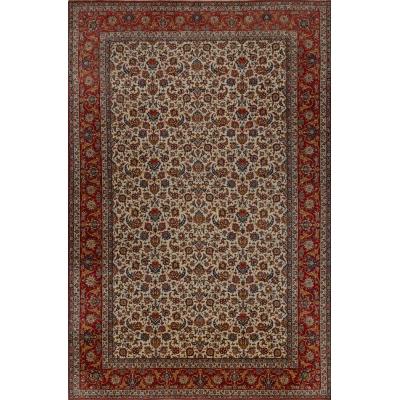 Semi-Antique  Najafabad Rug