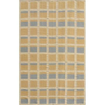 Wool Swedish Flat Weave Rug