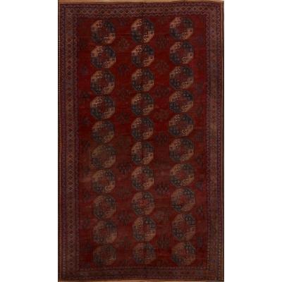 Semi-Antique  Turkaman Rug