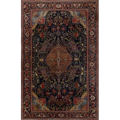 Antique Oriental Bakthiari Rug