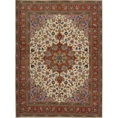 Semi-Antique  Persian Tabriz
