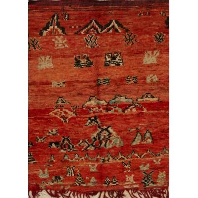 Vintage Moroccan Rug
