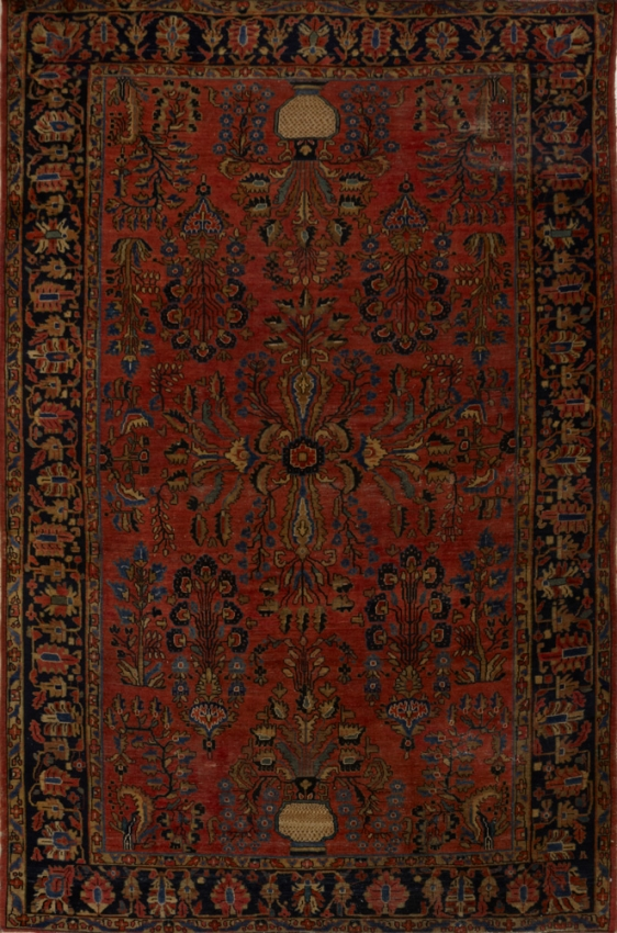 Antique  Sarouk Rug