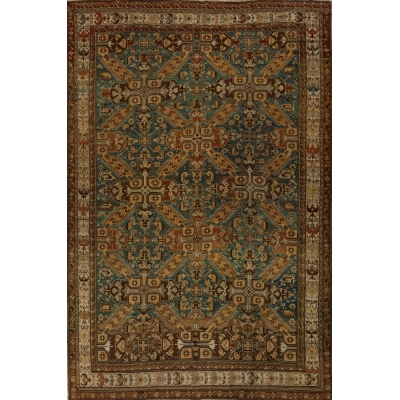 Antique  Kazak Rug