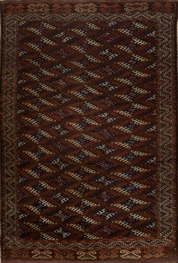 Antique  Yamout Rug