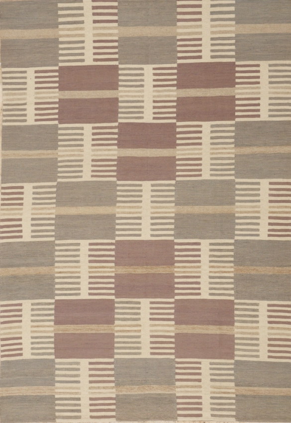 Scandinavian Flat Weave Rug