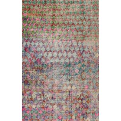 Vintage  Distressed Khotan Rug