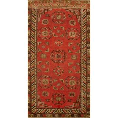Semi-Antique  Khotan Rug