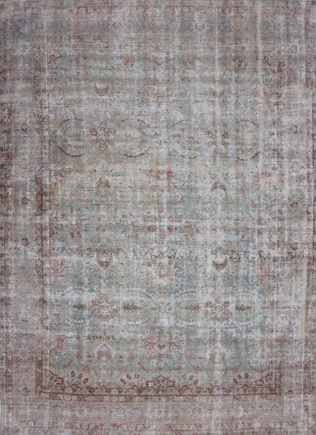 Antique  Lavar Kerman Rug
