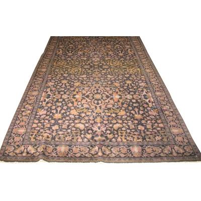 Antique Oriental Agra Rug