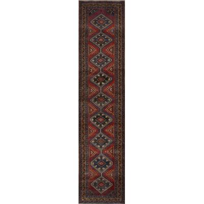 Antique Persian Garajeh Rug