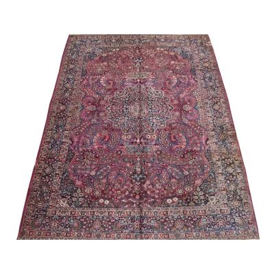 Antique Oriental Mashad Rug