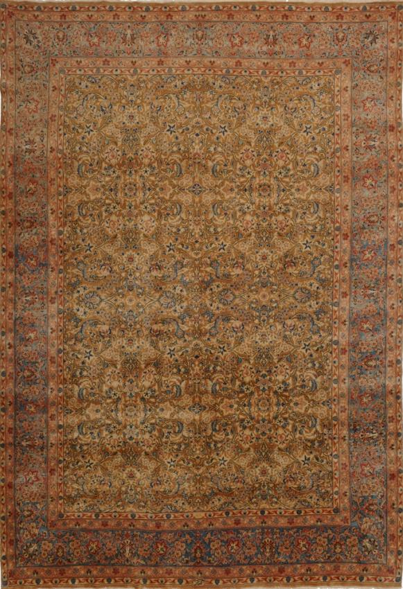 Semi-Antique Persian Yazd - Kerman Rug