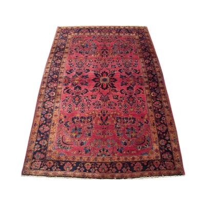 Antique Oriental Sarouk Rug