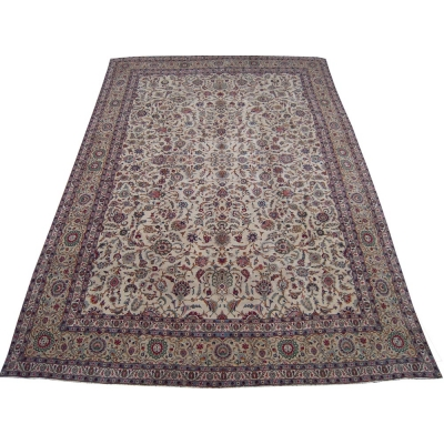 Antique Persian Tabriz - Kashan Rug