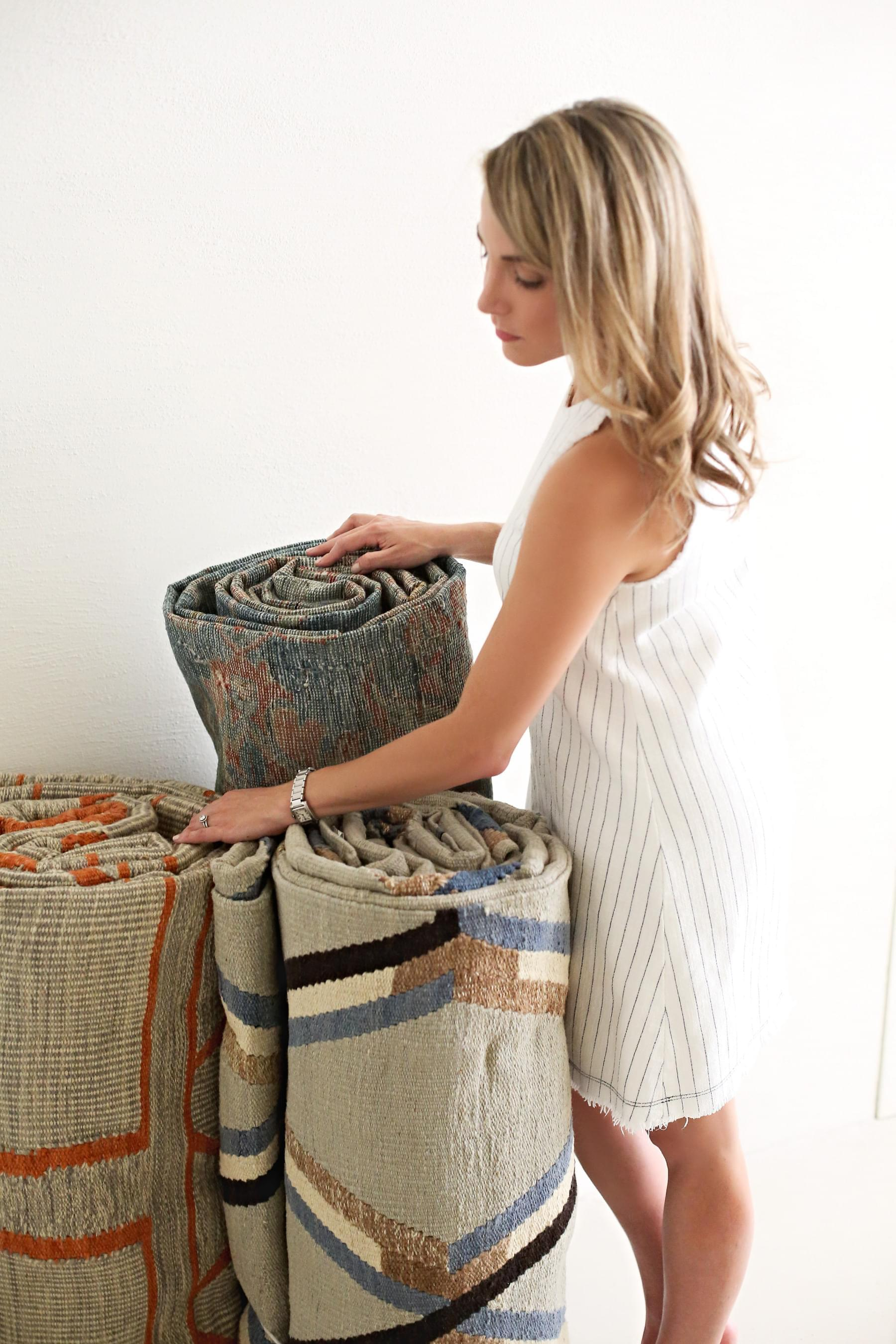 Sarah and Liz Esfahani curated Vintage Rugs Shop.